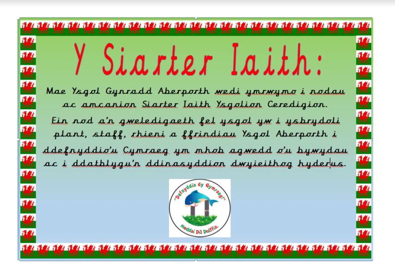 Welsh Siarter Iaith